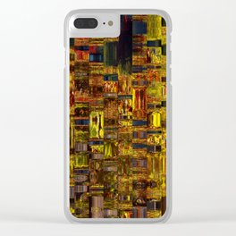 Colors of the City Clear iPhone Case