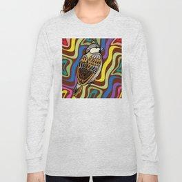 Sparrow Bird Long Sleeve T-shirt
