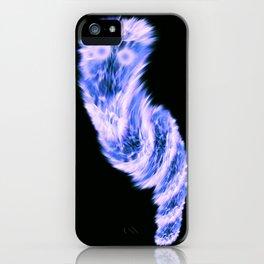 very fluffy and globular animal iPhone Case