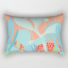 Succulents in the sunshine Rectangular Pillow