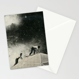 Space Station Maintenance Stationery Cards