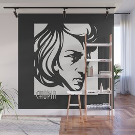 Art Deco style Chopin Wall Mural