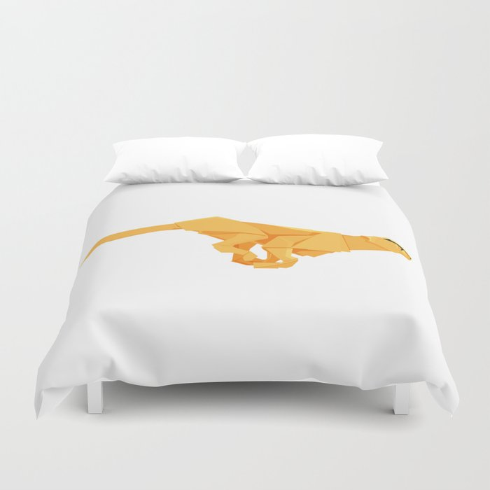 Origami Cheetah Duvet Cover