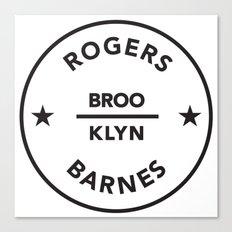 Rogers & Barnes Canvas Print