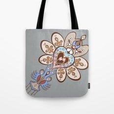 Flowering Heart Tote Bag