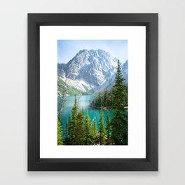 Lake Colchuck Framed Art Print
