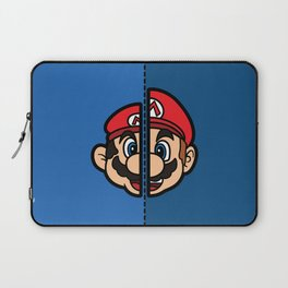 Old & New Mario Laptop Sleeve