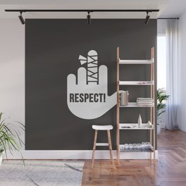 Respect Wall Mural