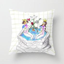 Rosarium Philosophorum  Throw Pillow