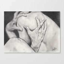 hands... Canvas Print