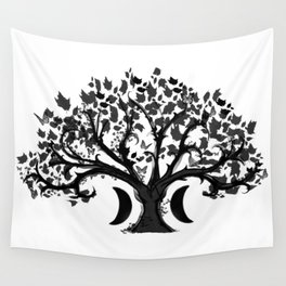 The Zen Tree Wall Tapestry