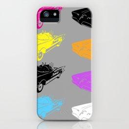 Pop Batmobile iPhone Case