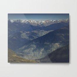 Mountains of Peru Metal Print