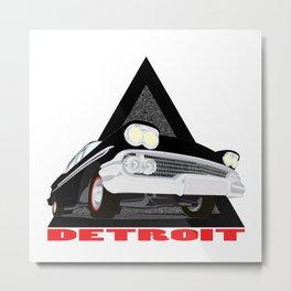 gangster car Metal Print