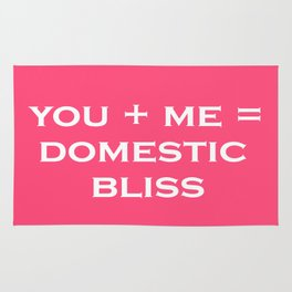 DOMESTIC BLISS Rug