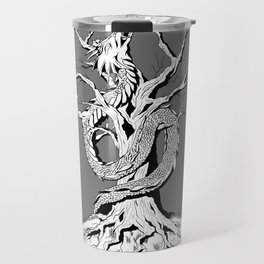 Dragon and the Tree Travel Mug