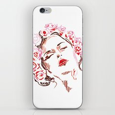 Flower girl iPhone & iPod Skin