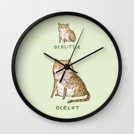Ocelittle Ocelot Wall Clock