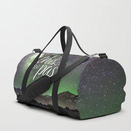 This Too Shall Pass Night Sky Duffle Bag