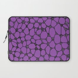 Yzor pattern 006-3 kitai lilac Laptop Sleeve