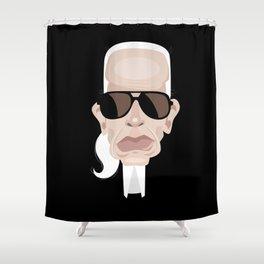 Karl Lagarfeld Shower Curtain