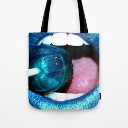 Blue Lolly Tote Bag
