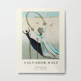 Poster-Salvador Dali-Dream Passage. Metal Print