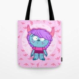 lil' monster sis Tote Bag