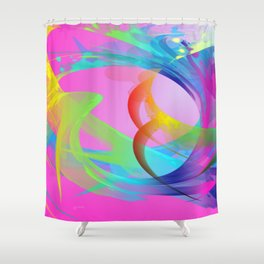 Power and positive energy, 26 Shower Curtain