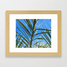 Los Angeles Foliage (Scene 1) Framed Art Print