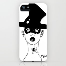 jinxi - witchy poo iPhone Case