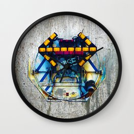 Rise The Obstacle Is The Road Wall Clock
