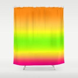 Summer Colors Gradient Shower Curtain