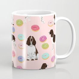 English Springer Spaniel donuts funny dog gifts perfect for spaniel owner pet portraits Coffee Mug