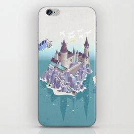 Hogwarts series (year 4: the Goblet of Fire) iPhone Skin
