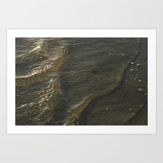 Sunset Waters Art Print