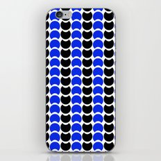 HobNob BlueBlack Print, Canvas and Laptop/iPad Skin iPhone & iPod Skin