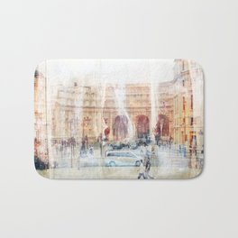 London Square Bath Mat