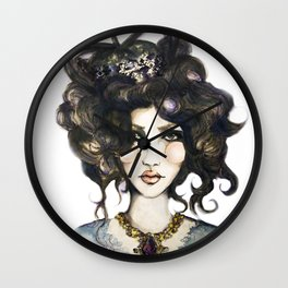 Bird // Fashion Illustration Wall Clock