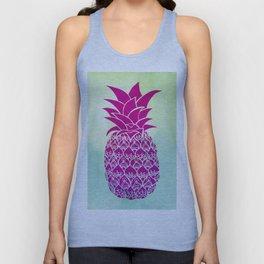 Pink Pineapple Unisex Tank Top