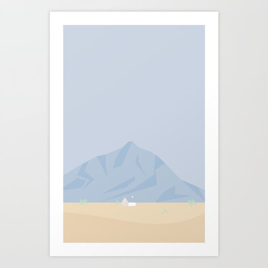 HUS No.3 Art Print