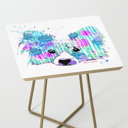 zoe the papillon Side Table