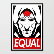 Equal Canvas Print
