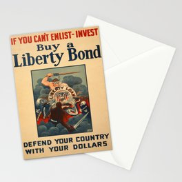 Vintage poster - Liberty Bonds Stationery Cards