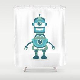 BOT II Shower Curtain