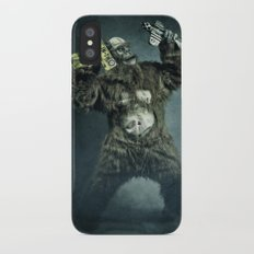 King Kong plays it again iPhone X Slim Case