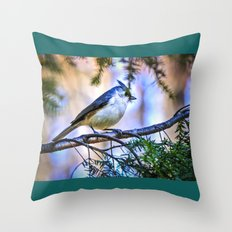 Good morning world. Throw Pillow
