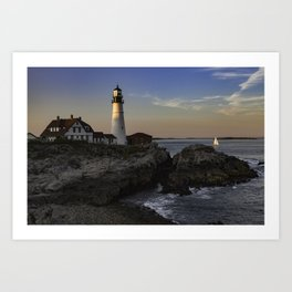Cape Elizabeth, Maine - September 2016 Art Print