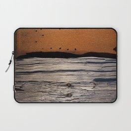 Rust & Old Wood Laptop Sleeve