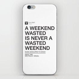 Weekend iPhone Skin